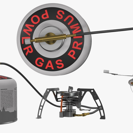 Camping Gas Stove 3. Render 8