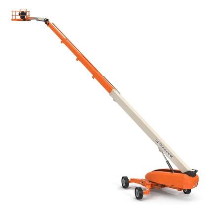 Telescopic Boom Lift Generic 4 Pose 2. Render 2
