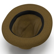 Fedora Hat Brown. Preview 10