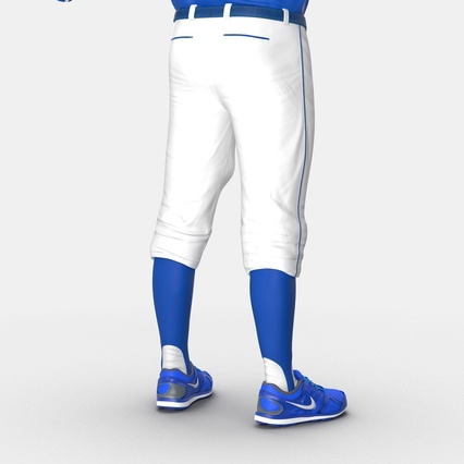 Baseball Player Outfit Mets 2. Render 32