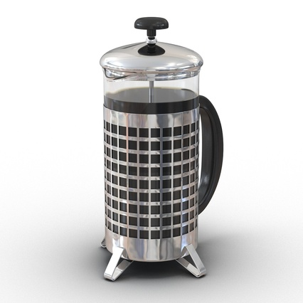 French Press. Render 3