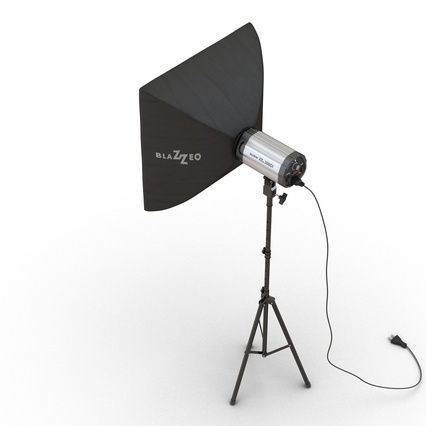 Photo Studio Lamps Collection. Render 54