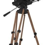 Vintage Video Camera and Tripod. Preview 16