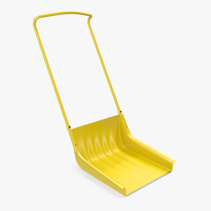 Snow Scoop Shovel. Render 1