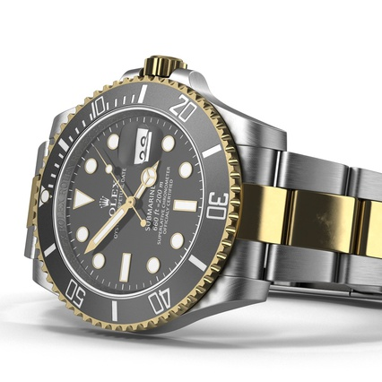 Rolex Watches Collection. Render 28