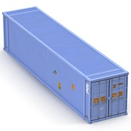 45 ft High Cube Container Blue. Preview 12