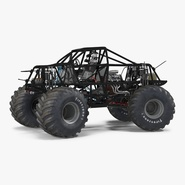 Monster Truck Bigfoot 2 Rigged