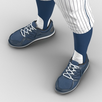 Baseball Player Outfit Generic 8. Render 28