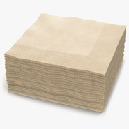Cocktail Napkins Brown