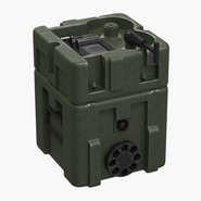 Military Lithium Battery Box 28V LBB. Preview 1