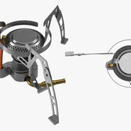 Folding Portable Camping Gas Stove. Preview 5