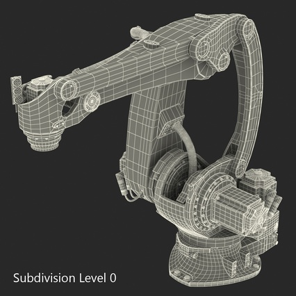 Kuka Robots Collection 5. Render 54