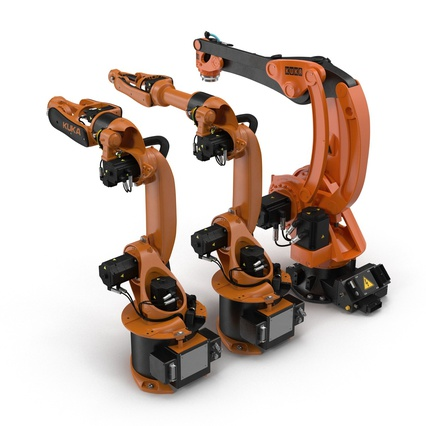 Kuka Robots Collection 5. Render 11