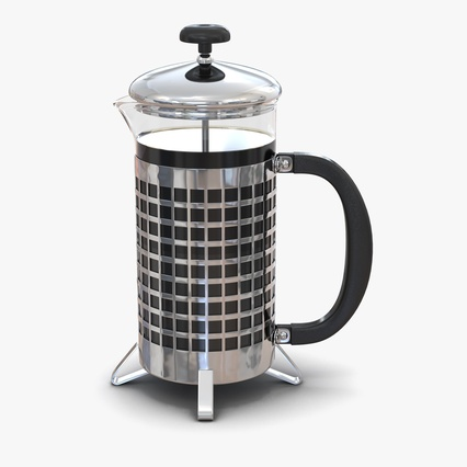 French Press. Render 1