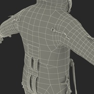 Russian Space Suit Sokol KV2 Rigged. Preview 74