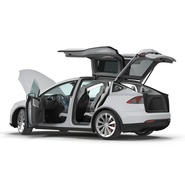 Tesla Model X Rigged. Preview 29