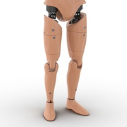Male Crash Test Dummy Rigged for Cinema 4D. Preview 25