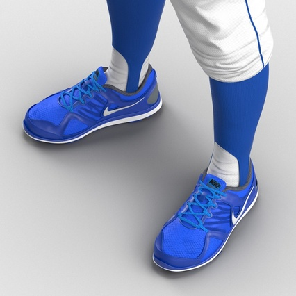 Baseball Player Outfit Mets 2. Render 35