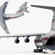 Ilyushin Il-76 Emergency Russian Air Force Rigged. Preview 15