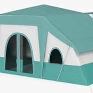 Deluxe Cabin Tent. Preview 6