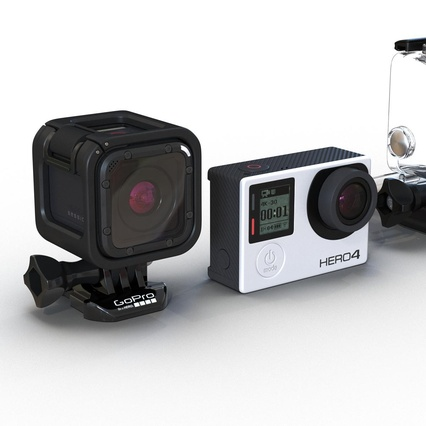 GoPro Collection. Render 15