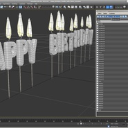 Happy Birthday Candles with Flame. Preview 18
