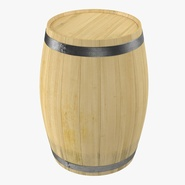 Wooden Barrel 2