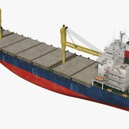 Sea Cargo Ship Generic. Preview 14