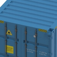 40 ft High Cube Container Blue 2. Preview 27