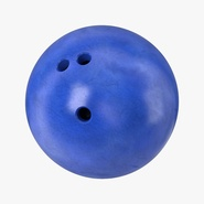 Bowling Ball Blue