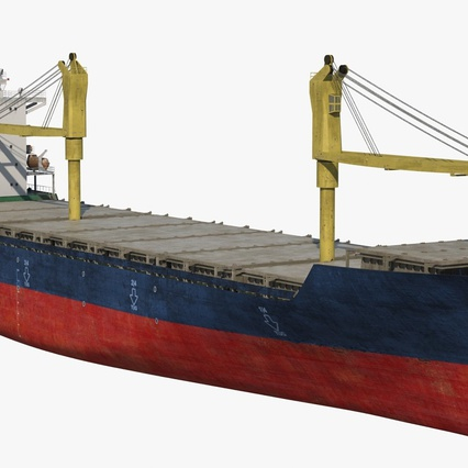 Sea Cargo Ship Generic. Render 5