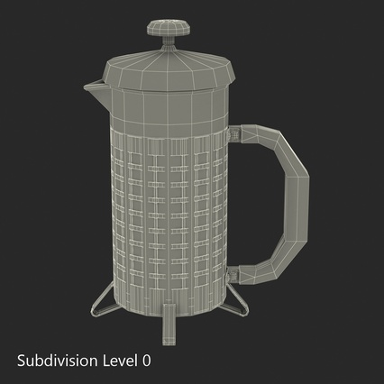 French Press. Render 32