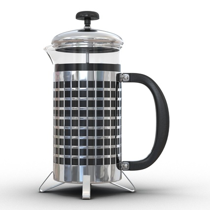 French Press. Render 12