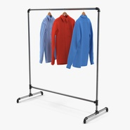 Iron Clothing Rack 5. Preview 1