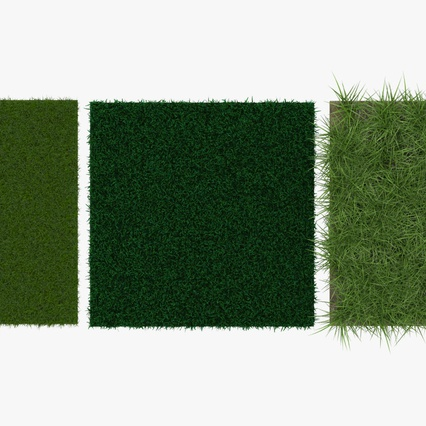 Grass Fields Collection 2. Render 5