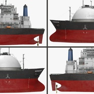 Gas Carrier Ship. Preview 19