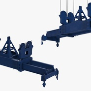 Container Crane Blue. Preview 32