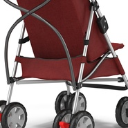 Baby Stroller Red. Preview 22