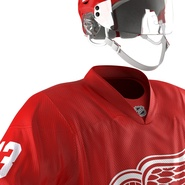 Hockey Equipment Detroit Red Wings. Preview 35