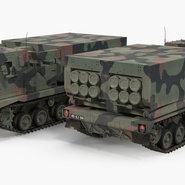 US Multiple Rocket Launcher M270 MLRS Camo. Preview 11