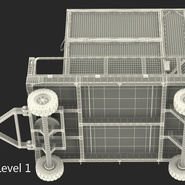 Airport Luggage Trolley Baggage Trailer with Container. Preview 28