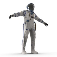 Russian Space Suit Sokol KV2 Rigged. Preview 21