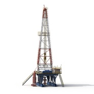Fracking Gas Platform. Preview 7