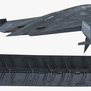 Stealth Bomber B-2 Spirit Rigged. Preview 21