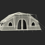 Deluxe Cabin Tent. Preview 4
