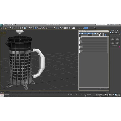 French Press. Render 36