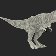 Tyrannosaurus Rex Rigged for Maya. Preview 4