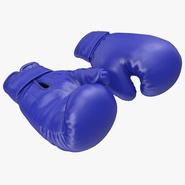 Boxing Gloves Blue