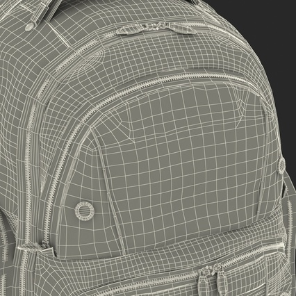 Backpack 2 Generic. Render 34