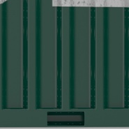 40 ft High Cube Container Green. Preview 30